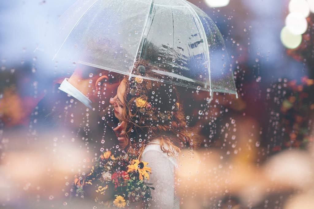 Top 10 Hochzeitsplanung - Regen ist kein Drama
