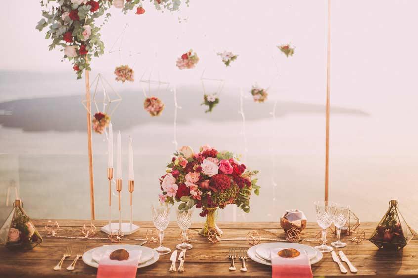 Hochzeit selber planen - Tischdecko -myhochzeiter.com